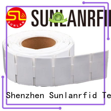 Sunlanrfid uhf engraved metal name tags manufacturers for transportation