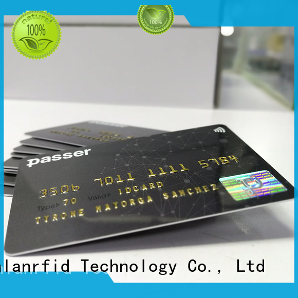 Sunlanrfid bus metro bus smart card supplier for subway