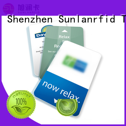 Sunlanrfid classic hotel door card production for daily life