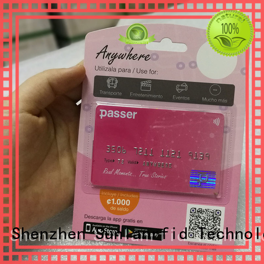 bus pass card smart for daily life Sunlanrfid