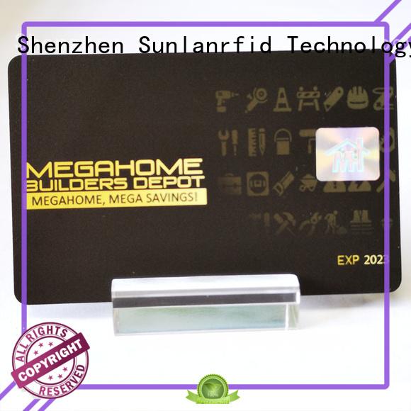 Sunlanrfid ultralight transportation card series for daily life