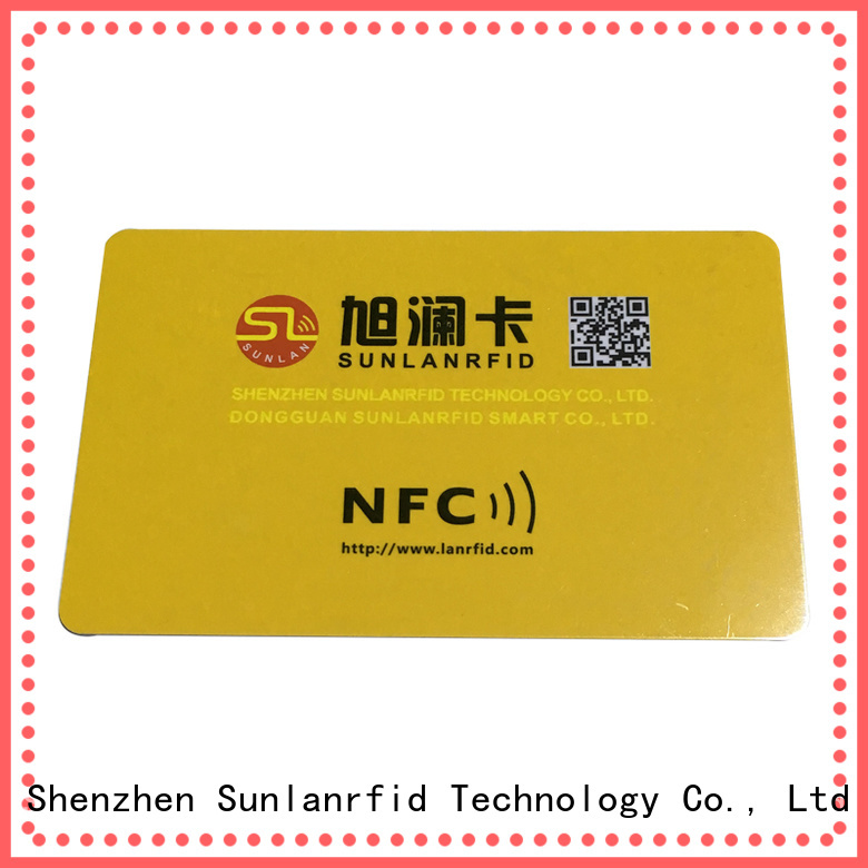 Sunlanrfid smart powered nfc tag supplier for shopping Center