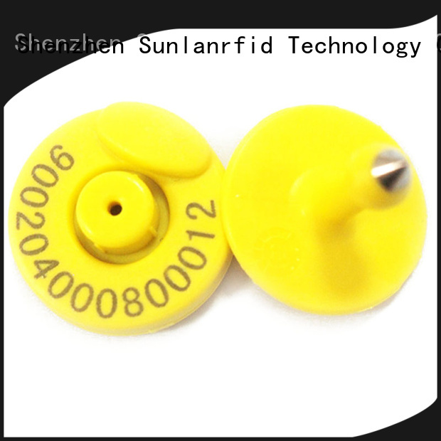 Sunlanrfid animal engraved metal dog id tags supplier for access control