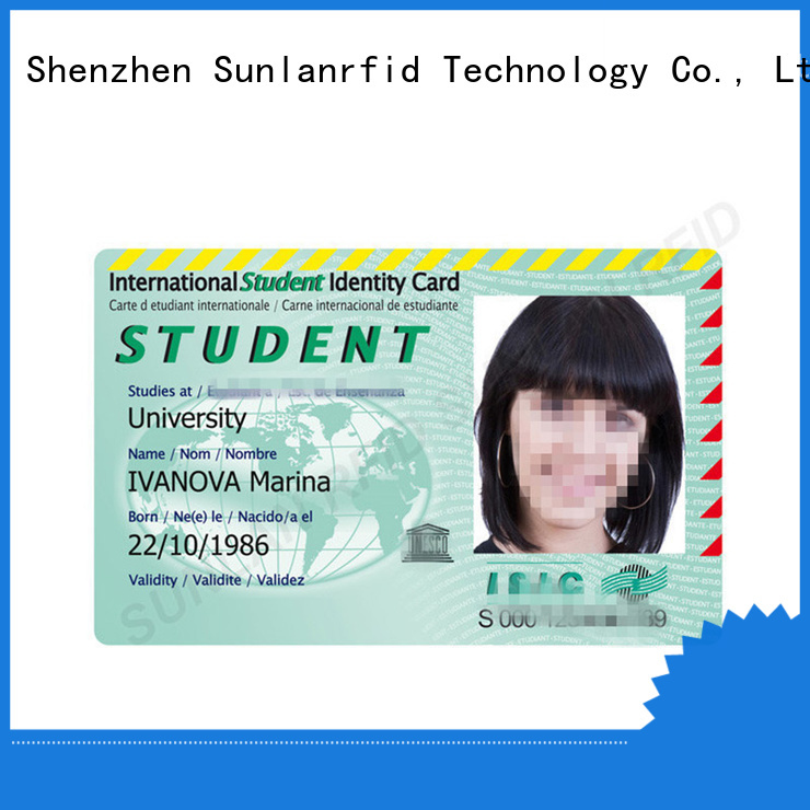 Sunlanrfid ntag213 when can you get a student card Suppliers for parking