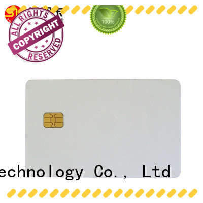 Sunlanrfid sle contact ic card production for access control