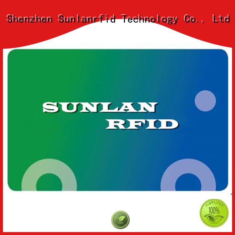 Quality Sunlanrfid Brand pvc train smart card