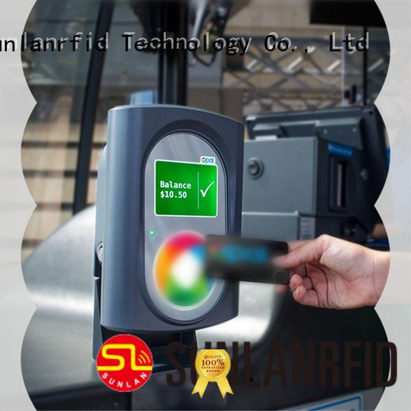 Sunlanrfid plus transportation card supplier for shopping center