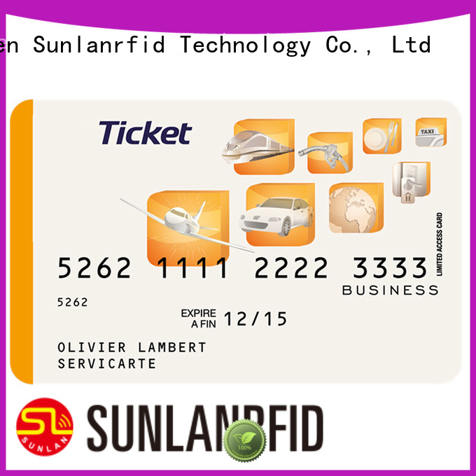 Top ticket card login slil Supply for access control