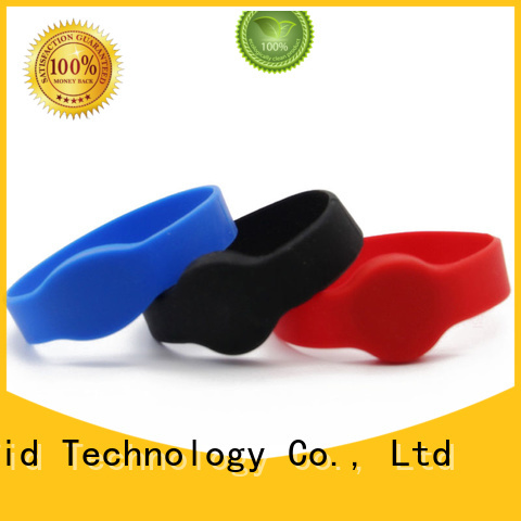 Sunlanrfid quality wristband rfid production for access control