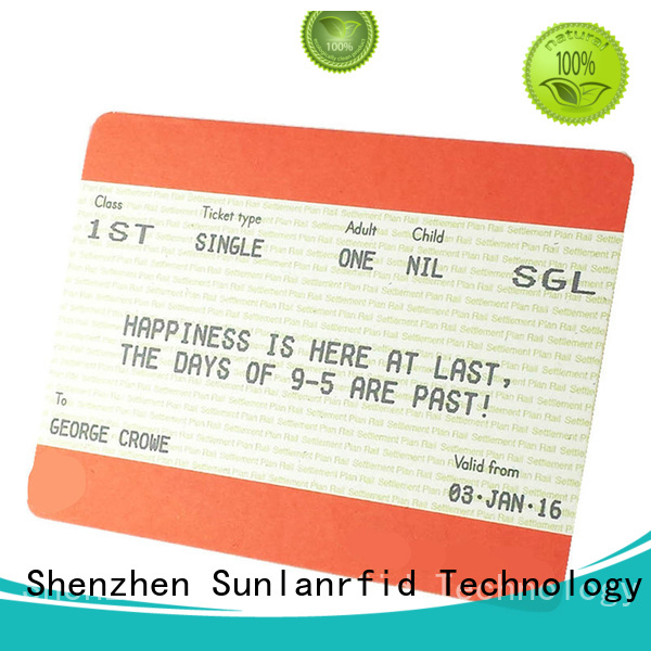 durable train smart card thin manufacturer for shopping Center