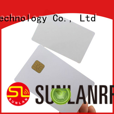 sle contact card ic for time and attendance Sunlanrfid