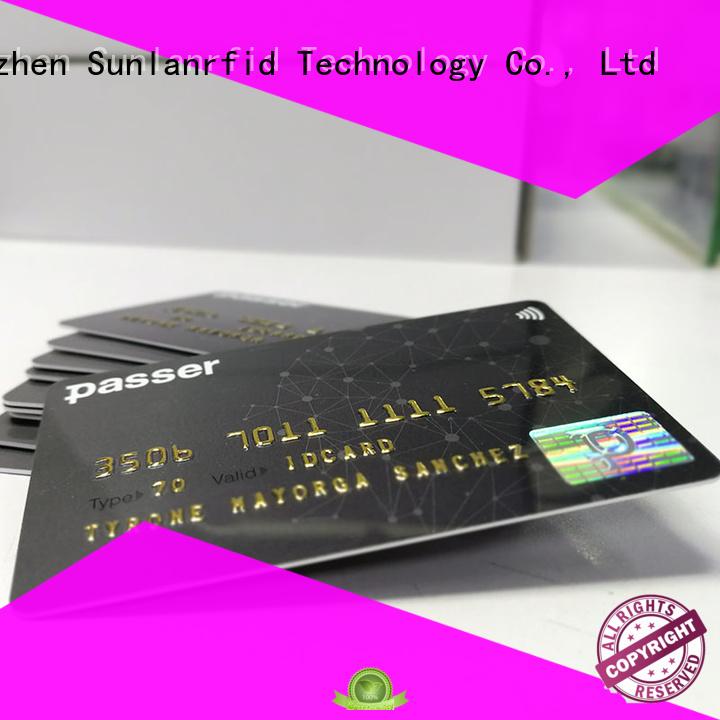 Sunlanrfid quality transportation card transportation for parking