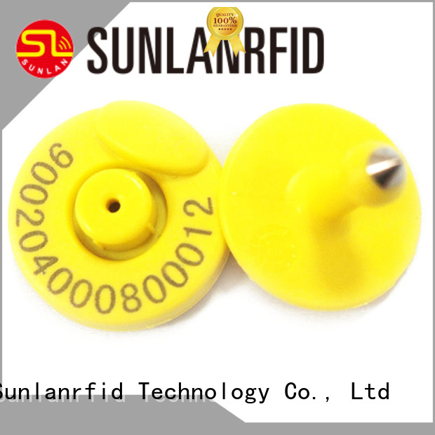 Sunlanrfid production rfid pet tag wholesale for transportation