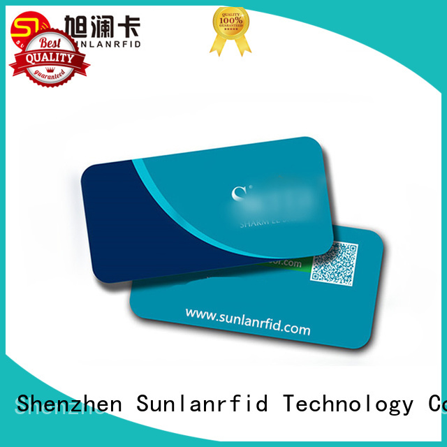 Sunlanrfid ultralight hotel room card production for daily life