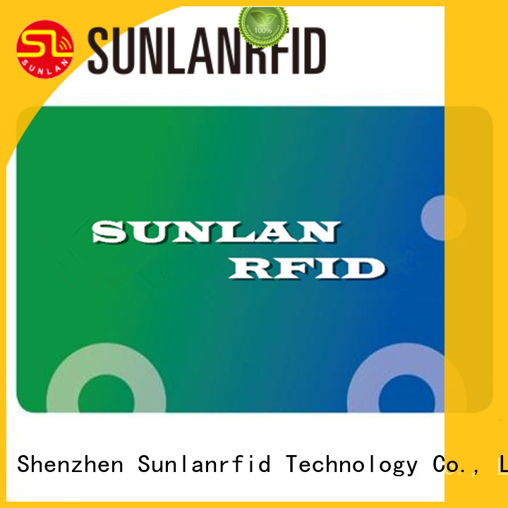 Sunlanrfid quality metro smart card series for transportation