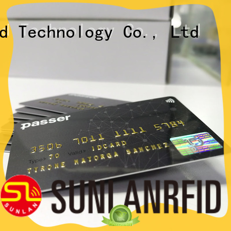 Sunlanrfid bus transit card supplier for daily life