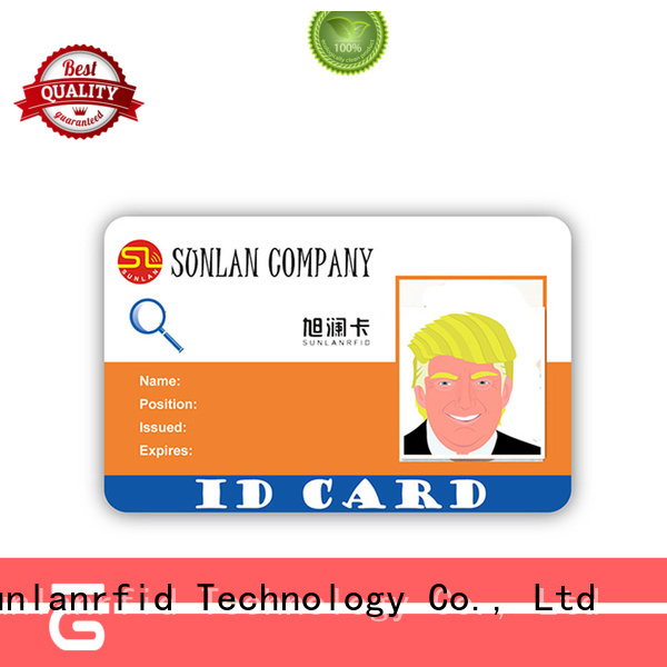 Sunlanrfid High-quality student id generator production for parking