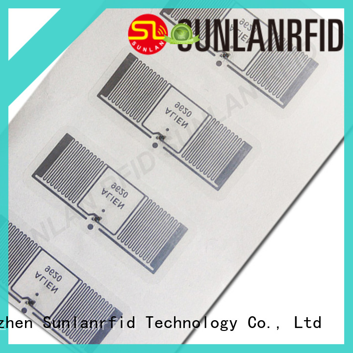 Sunlanrfid uhf inlay card company for clothing store