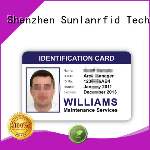 quality student card ultralight production for time and attendance