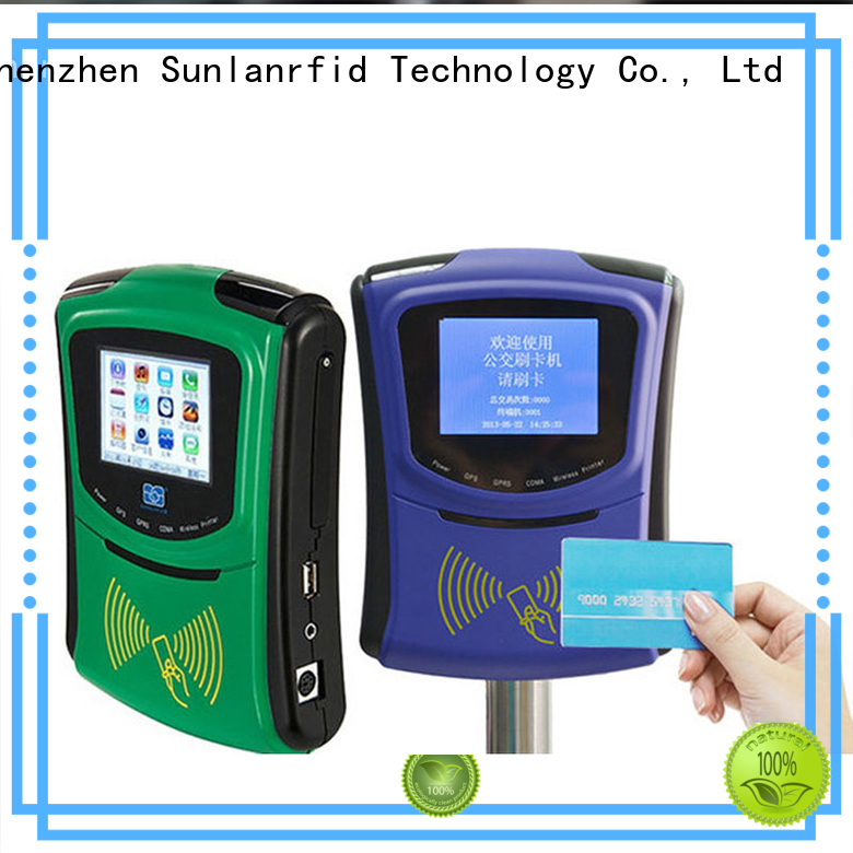 Sunlanrfid Brand smart ultralight rfid bus card plus supplier