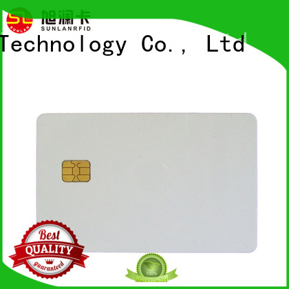 card ic contact Sunlanrfid Brand contact ic card factory
