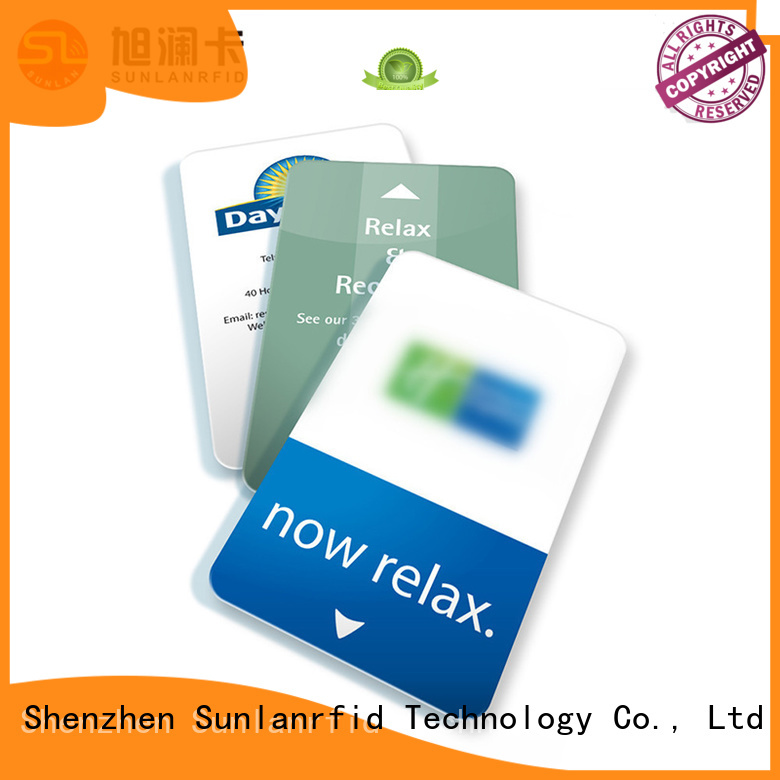 Sunlanrfid se room key card supplier for hotel