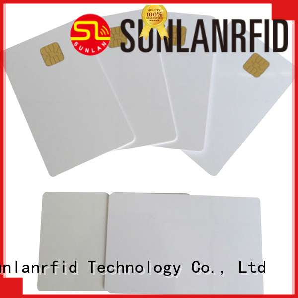 Sunlanrfid card contact chip card production for parking