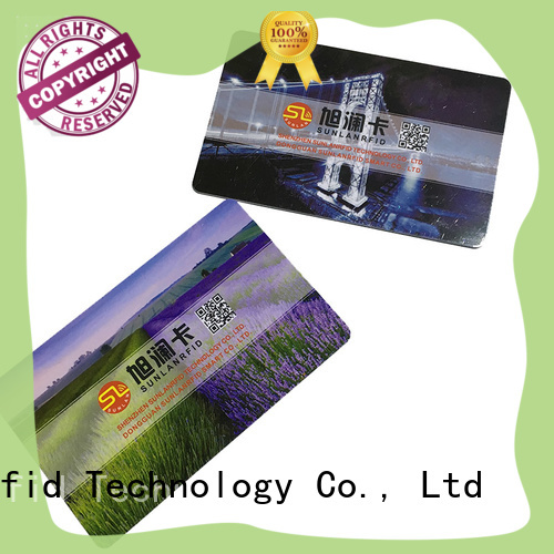 Sunlanrfid quality magnetic card price for transportation