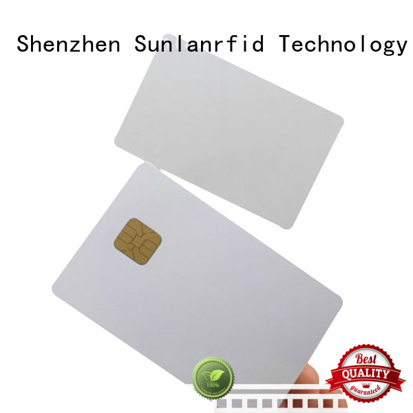 smart card contact Sunlanrfid Brand contact ic card manufacture