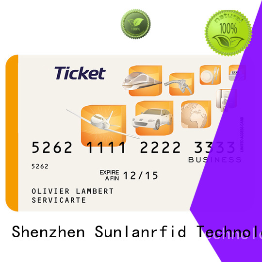 train smart card nano production for time and attendance