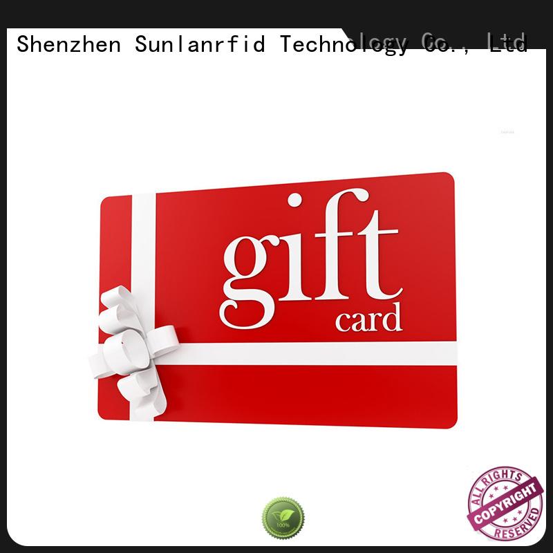 Sunlanrfid loyalty loyalty card card for parking
