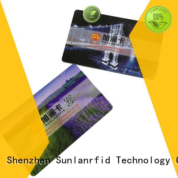 Sunlanrfid proximity card wholesale for transportation