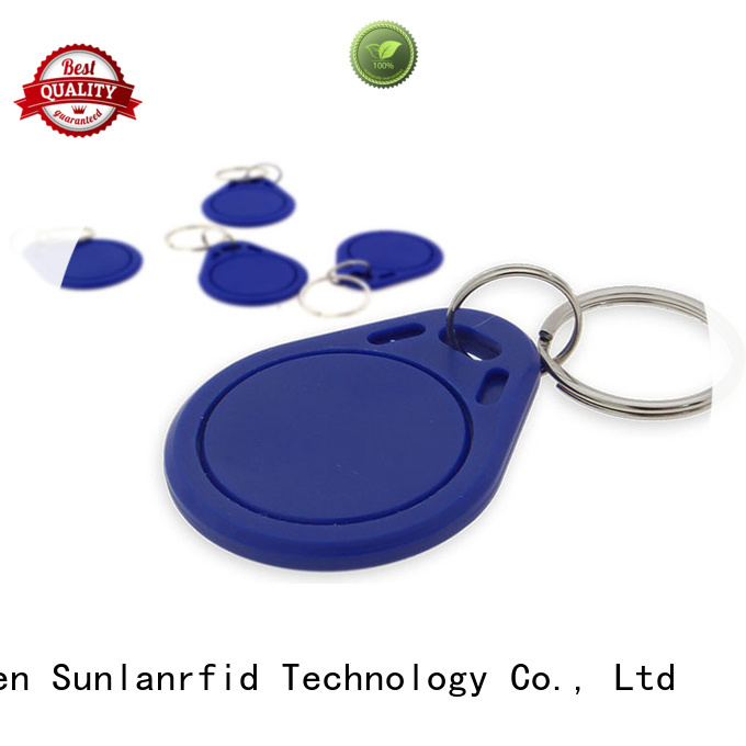 Sunlanrfid durable key fobs production for shopping Center