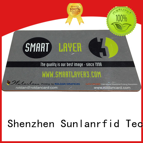 Custom printing access control card card Sunlanrfid