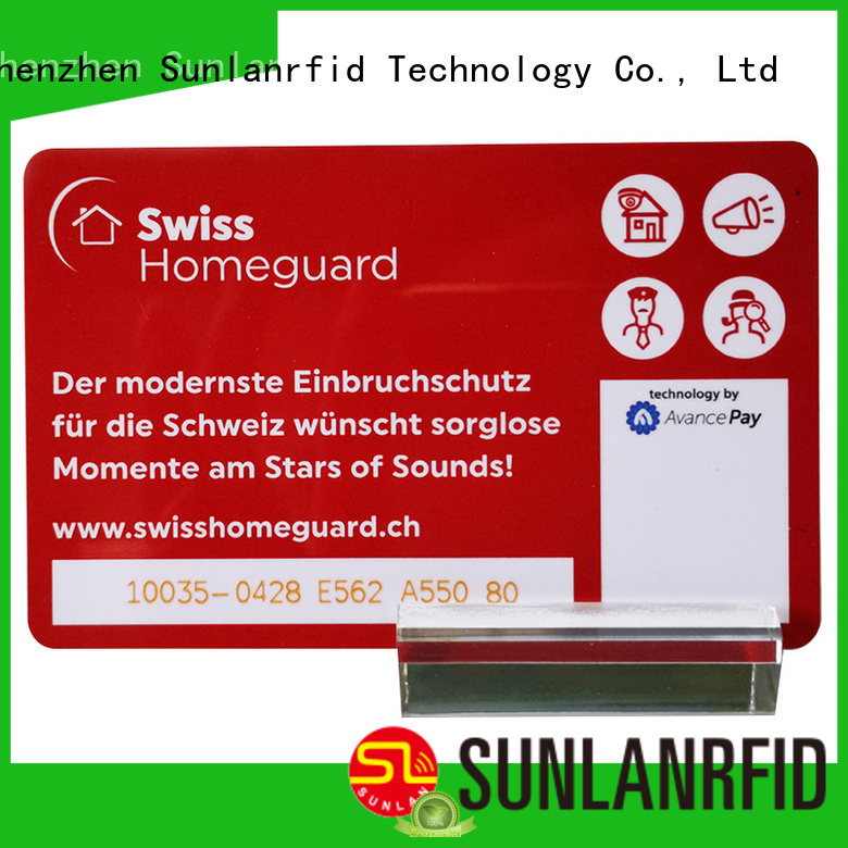 Sunlanrfid card best prepaid cards supplier for transportation
