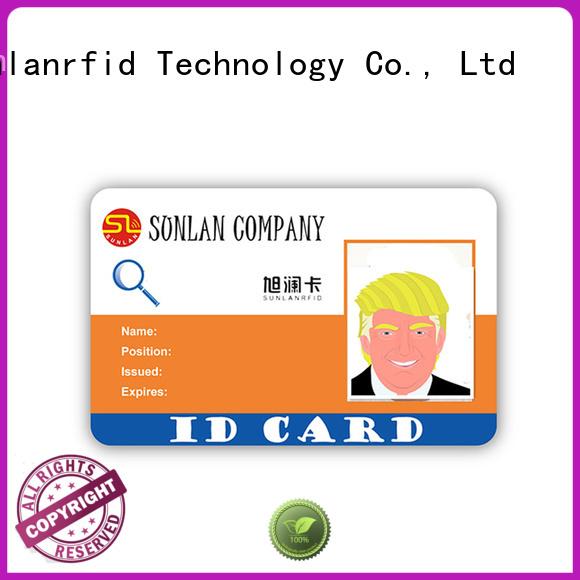 id chip rfid student id card icode Sunlanrfid company