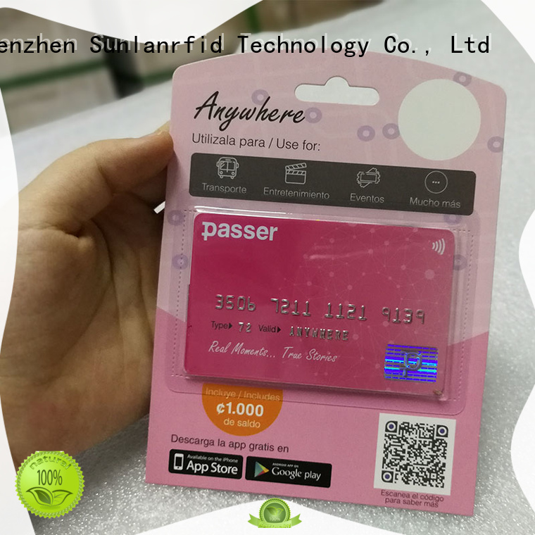 Sunlanrfid hot sale compass card cost wholesale for shopping center