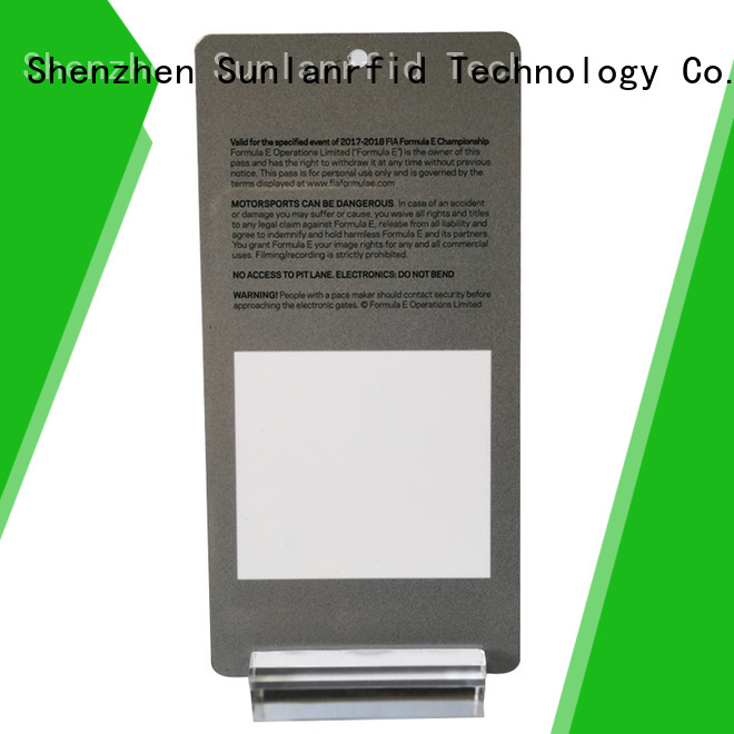 Sunlanrfid New identity card printing machine badges for daily life