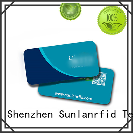 online contactless smart card pvc production for time and attendance