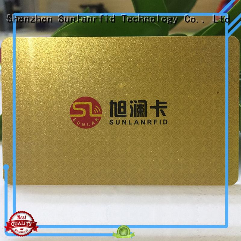 Sunlanrfid smart nfc smart card price for shopping Center