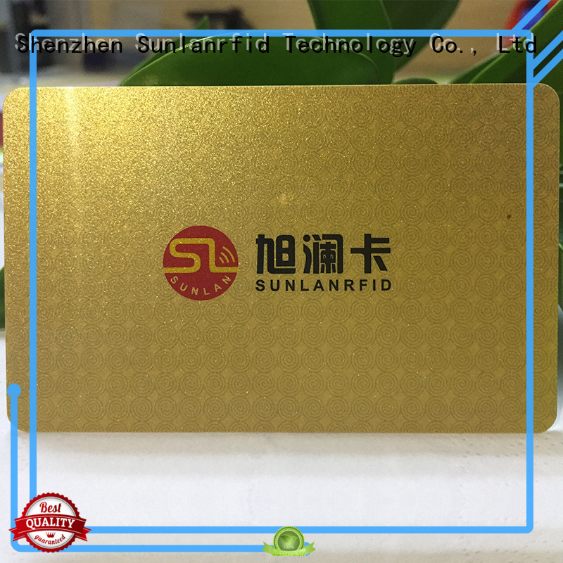 Sunlanrfid smart nfc smart card price for shopping Center