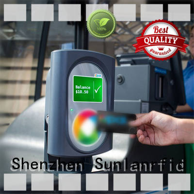 Sunlanrfid online transport card transportation for subway