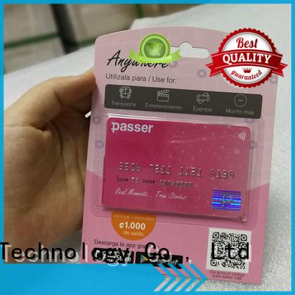 Sunlanrfid online transport card wholesale for shopping center
