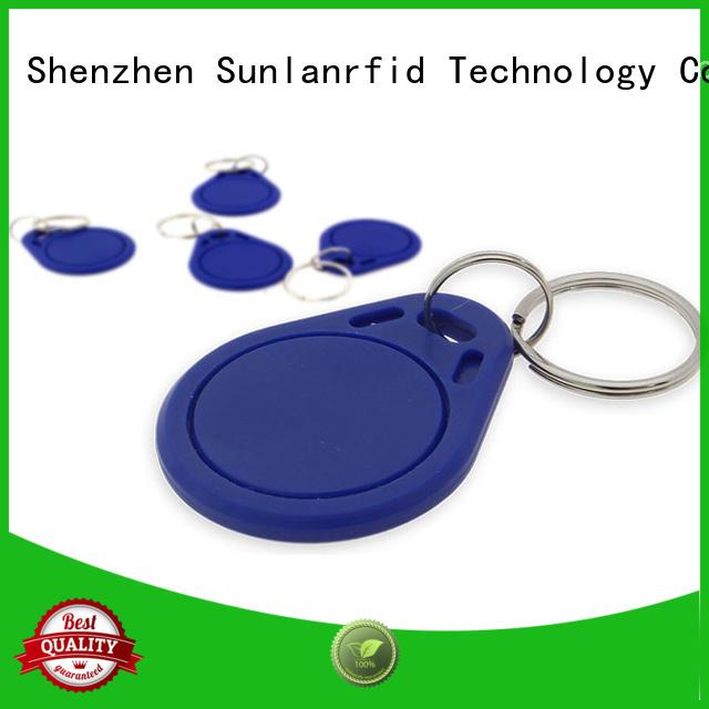 mifare car key fob card for transportation Sunlanrfid