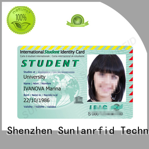 quality student id card em4450 price for transportation