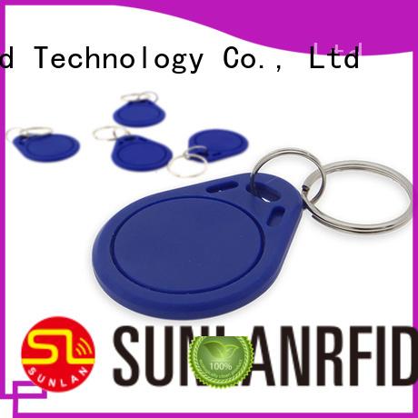 Sunlanrfid classic car key fob production for daily life