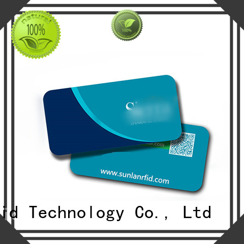 Sunlanrfid parking magnetic stripe parking card supplier for access control