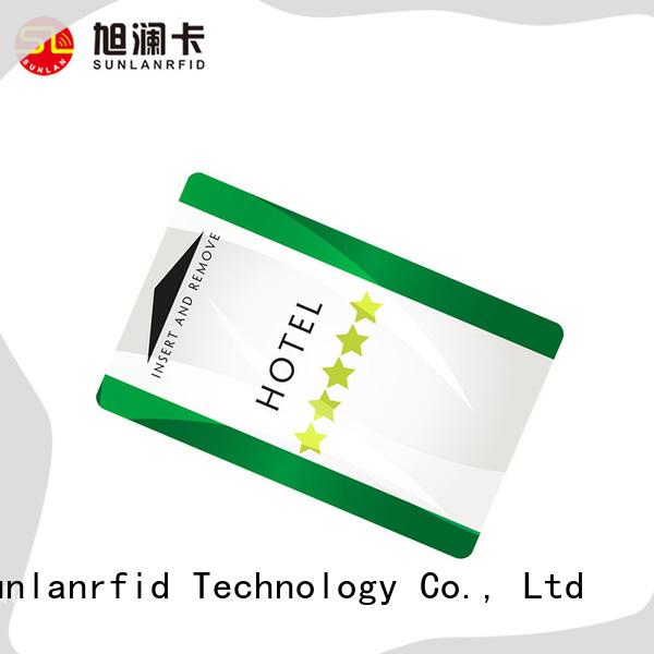 Sunlanrfid mifare wireless key card series for hotel
