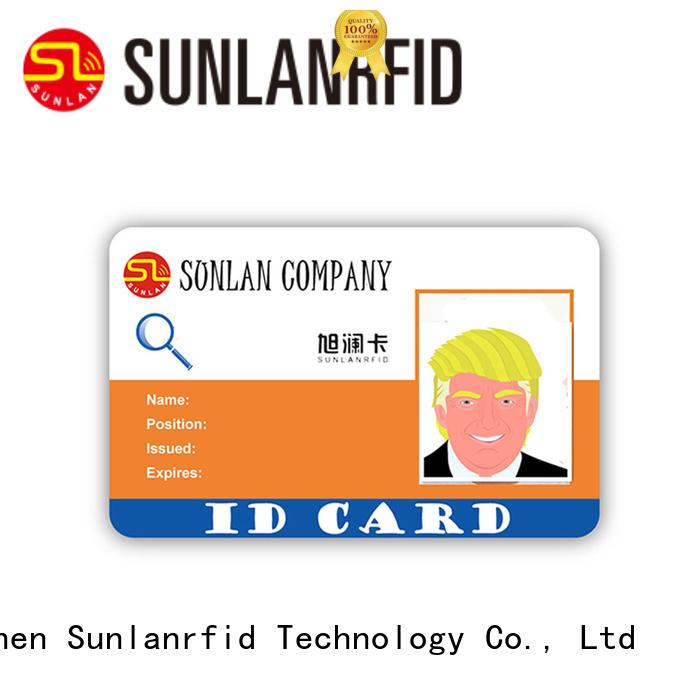 Sunlanrfid online school id card design em4450 for access control