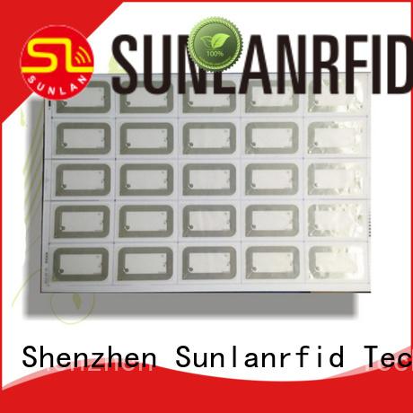 Sunlanrfid uhf UHF Inlay Prelam series for transportation